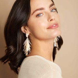 Kendra Scott Jasper Fringe Drop Earrings